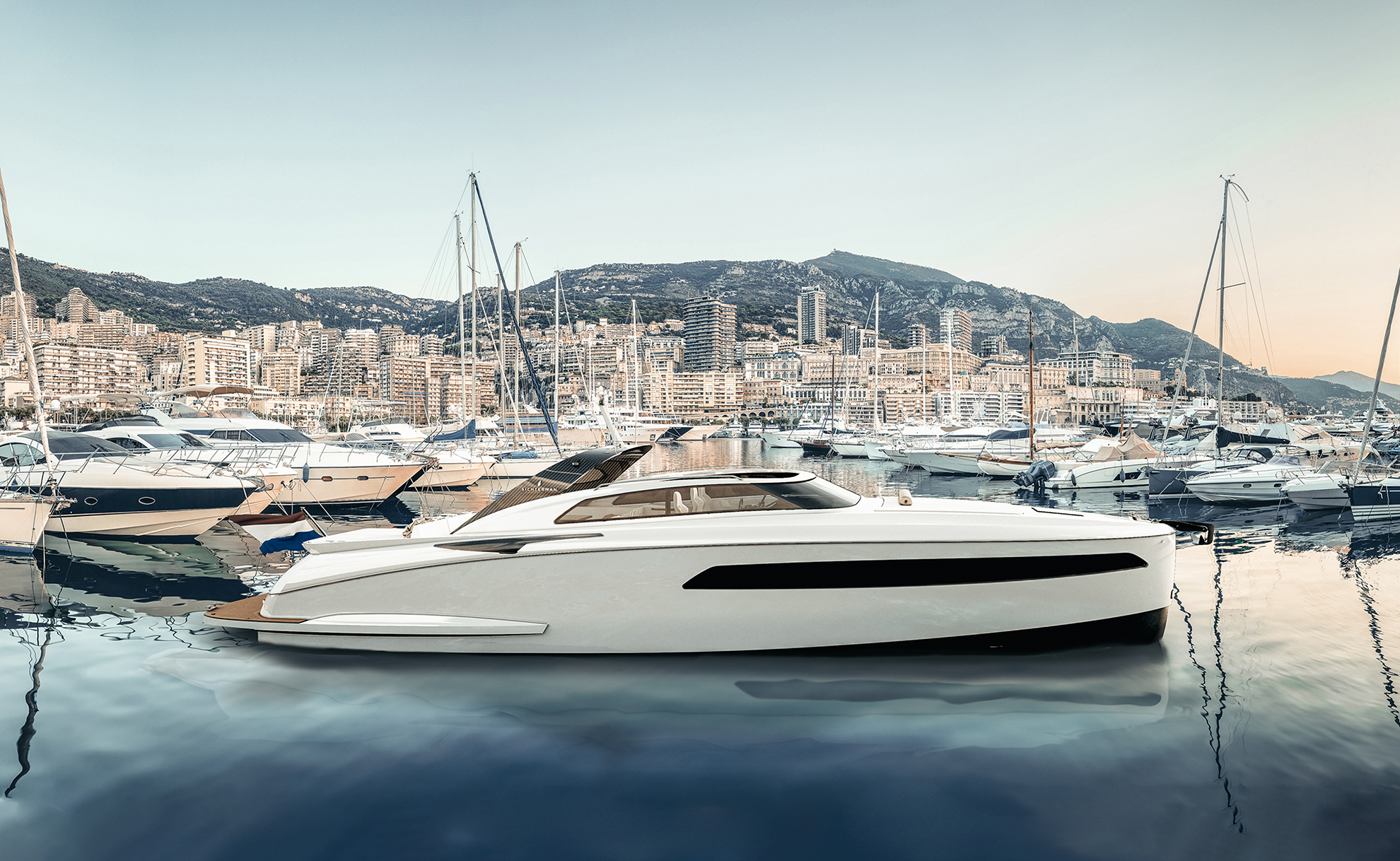 Sichterman Libertas 15M tender Supery achts Monaco